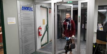 Juulia Kolehmainen Andritz juna-taksi