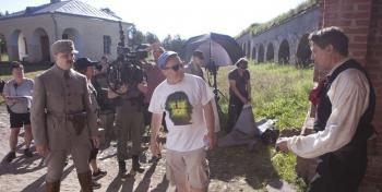 Laugh or Die Film shooting in Kyminlinna. Photo: Veera Aaltonen