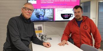 Markku Merovuo ja Jake Ihalainen