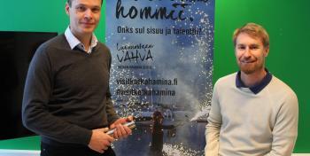 Kimmo Lappalainen ja Jarkko Haavisto