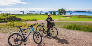 Pyöräilumatkailua kehitetään