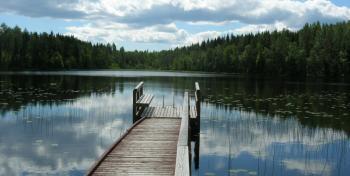 Salpapolulla Miehikkälässä kuva: Jaakko Suominen