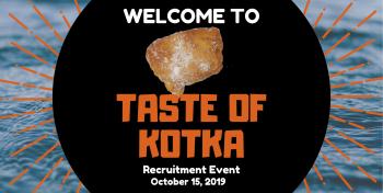 Taste to Kotka kampanjakuva