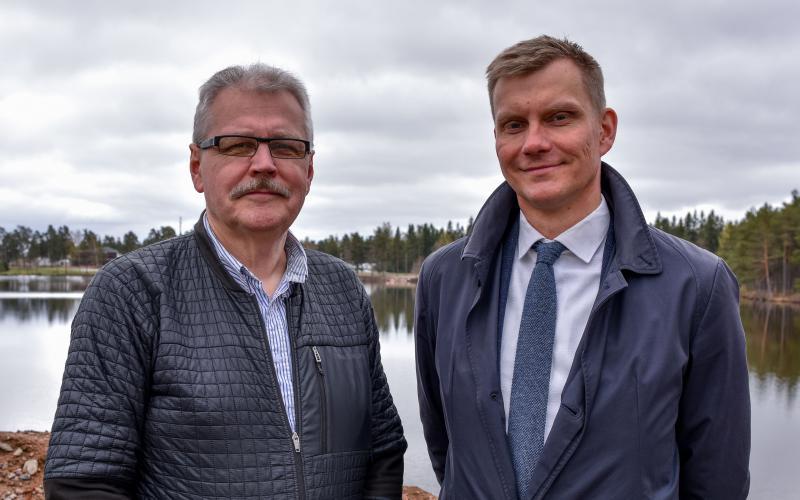 Hannu Lehtinen ja Jouni Eho
