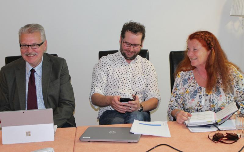 Hannu Lehtinen, Simo Kaksonen ja Nina Nylund