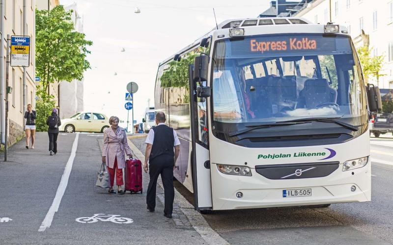 Pohjolan Liikenne Helsingissä
