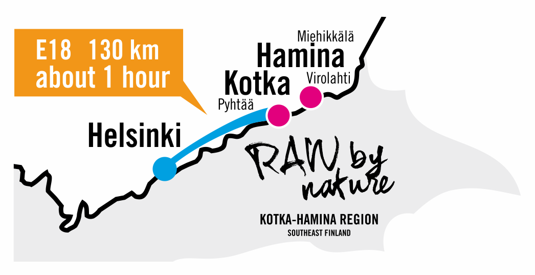 Kotka-Hamina region arriving