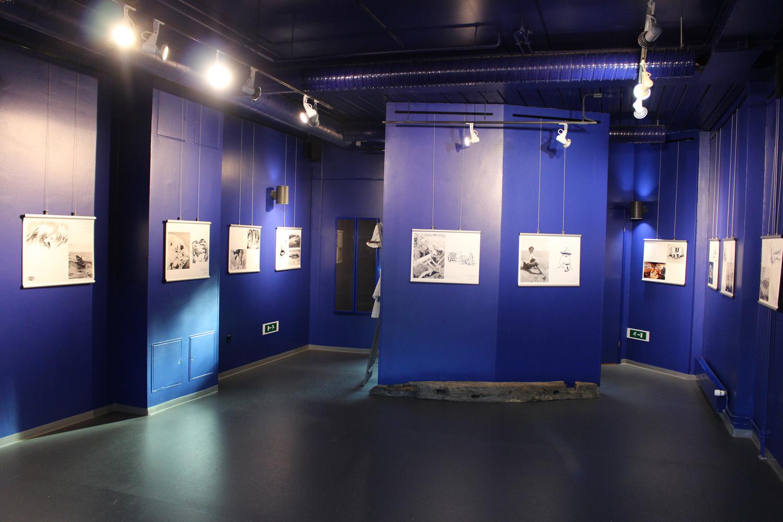 Kuva näyttelystä Tove ja meren lumous