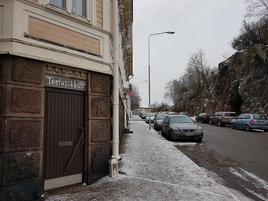 Teelusikka kahvila Kotkassa Kuvaaja: Marianne Mokkala-Räty