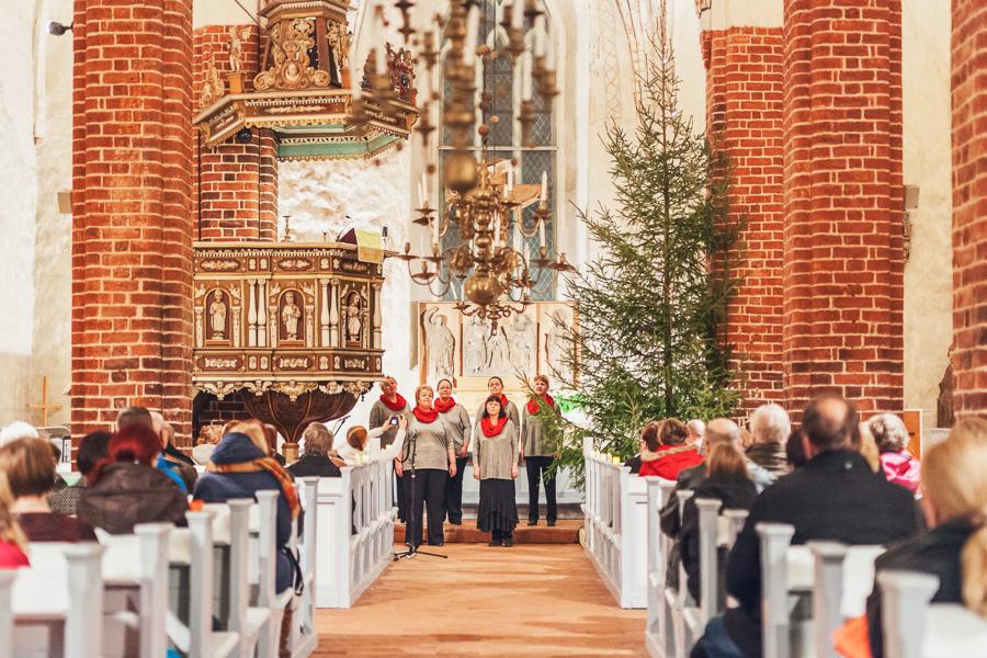 Pyhtään kirkko, joululaulut