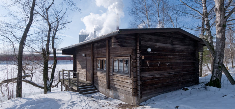 Kantola Seaside Sauna Aalto Sunila
