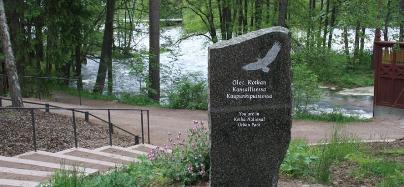 Kotkan kansallinen kaupunkipuisto, Langinkoski