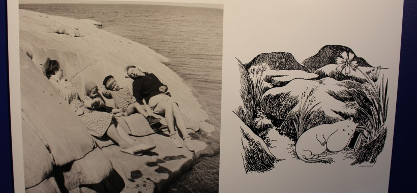 Tove ja meren lumous näyttelyn kuva