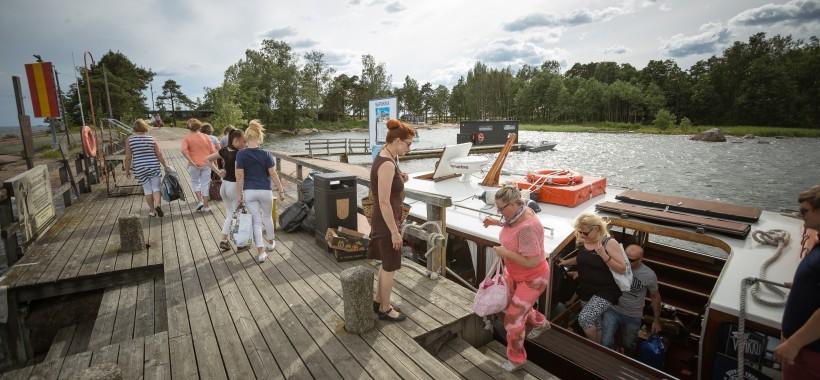 Varissaari, Kotka veneily Karo Holmberg