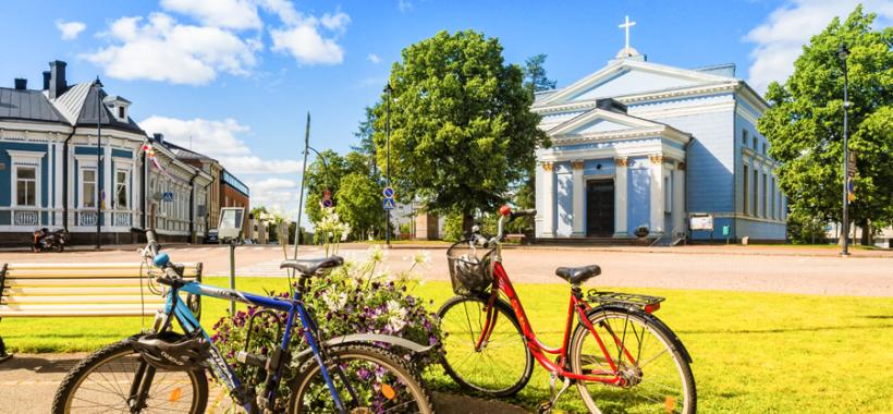 Pyöräily Haminassa