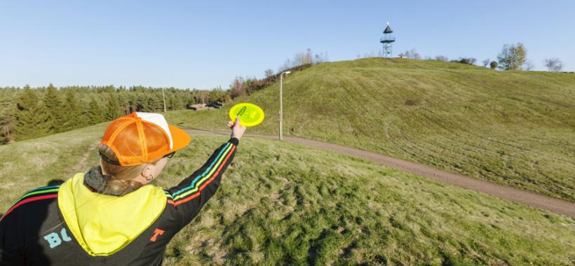 Kumparepuisto Kotka, frisbeegolf
