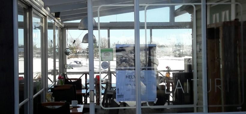 Marina cafe Laituri terassi
