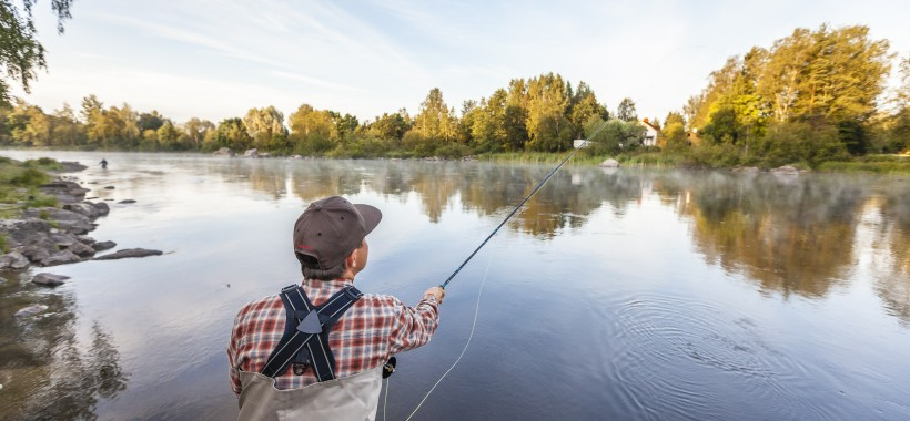 kalastus kymijoki