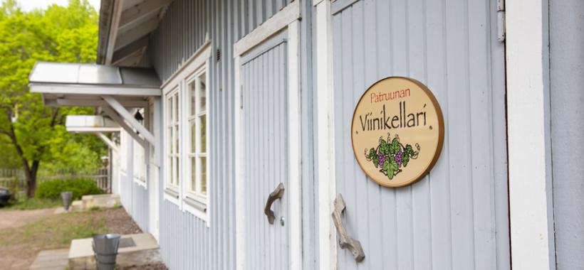 Patruunantalon viinikellari, Pyhtää