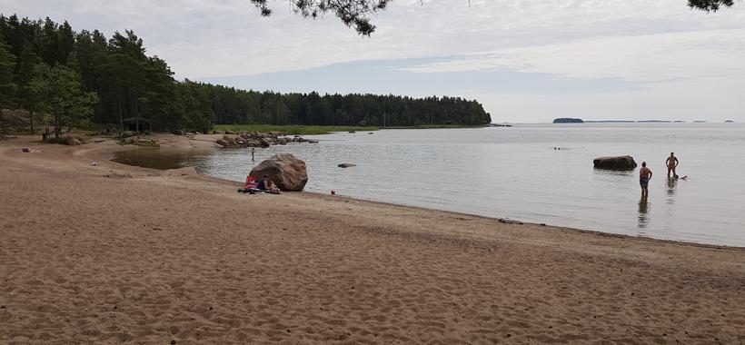 Pitkät hiekat, Hamina