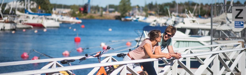 Sapokan venesatamassa kuva Lukas Pearsall Visit Kotka-Hamina