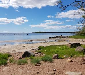 Haminan uimaranta Pitkät hiekat