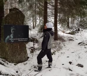 Tuntemattoman polku Virolahdella