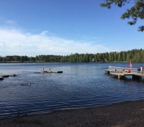 Huutjärven ranta
