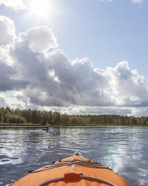Melonta Kymijoella Kuva: Jukka Koskinen