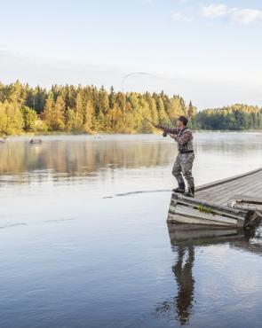 Kalastus Kymijoella