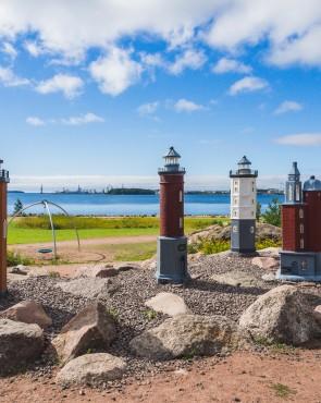 Katariinan meripuisto majakat