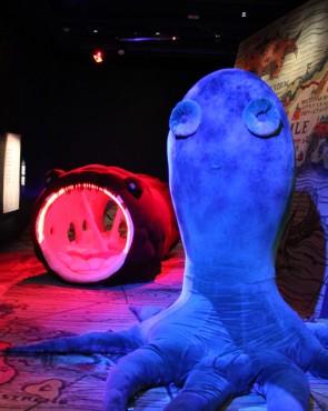 Vellamon Merimonsterit-näyttely