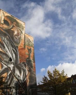 Muraali Smug Kotka