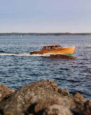 Выставка-ярмарка деревянных лодок в Котке 24.-27.7.2019