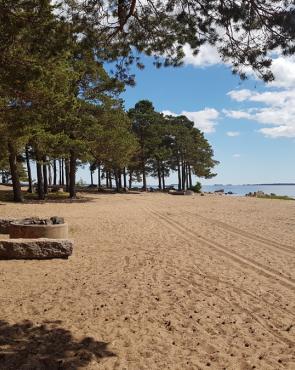 Äijänniemen uimaranta, Kotka