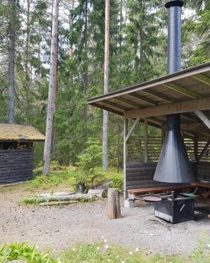 Matsun laavu, Salpapolku Virolahti