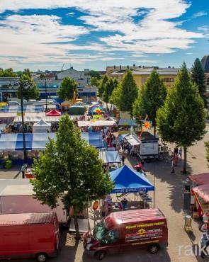 Рыночная площадь Хамины, Финляндия