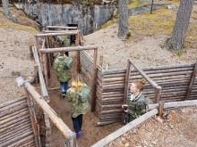 Korsupiknikillä Virolahden Bunkkerimuseolla kuva Hanna Nieminen