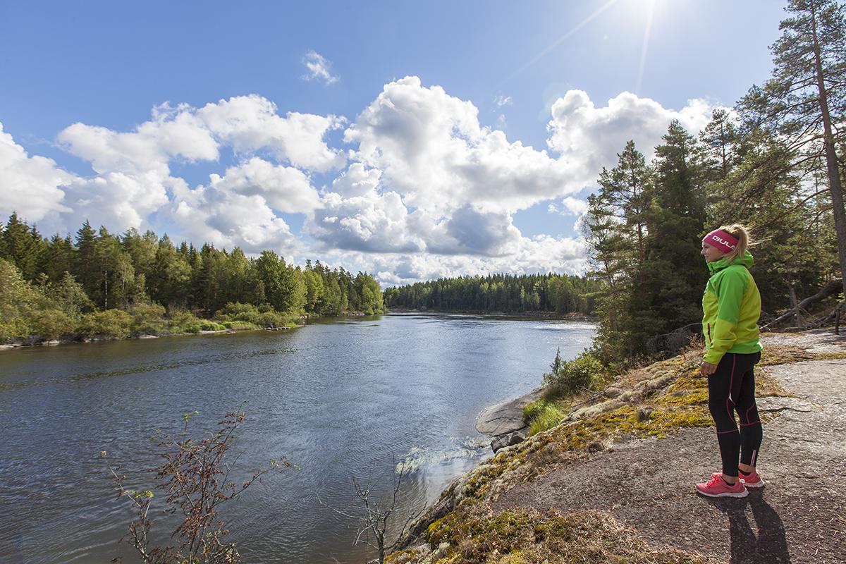 Kymijoen ulkoilureitit Kuva: Jukka Koskinen